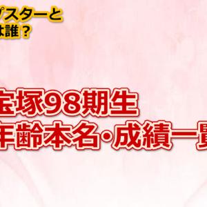宝塚98期の年齢・本名と成績一覧!現役トップスターと花組のオカリナって誰?