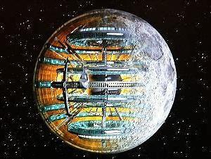 月は宇宙人の「宇宙船」!?人工天体説!!