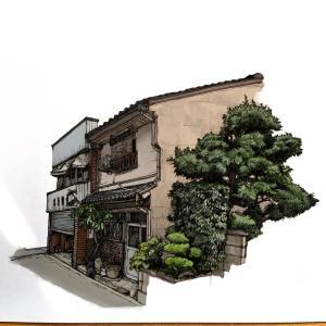 海外掲示板「日本の民家をデジタルインクで描いてみたよ」←結構味が出てる件ww 海外の反応
