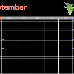 11月までのスケジュールを更新しました