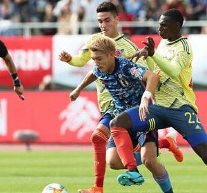 【サッカー】U-22日本代表、0-2でコロンビアに敗れる!