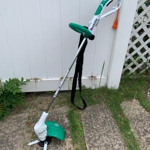 電動草刈機ポチッとしました。。
