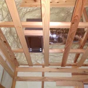 全館空調ダクト式マルチエアコンが本設置されました