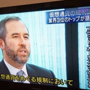 G20会議にむけ、リップル社最高責任者WBSインタビュー(WBS 3/19放送)