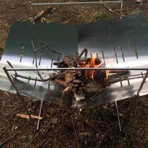 ピコグリルはソロキャンプの焚き火台として最強!?魅力とデメリットを書き綴る!