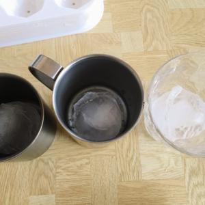 本当に氷が溶けにくい!?チタンマグの保冷力を徹底比較!
