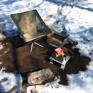 ユニクロのウルトラライトダウンを冬キャンプの寒さ対策に!