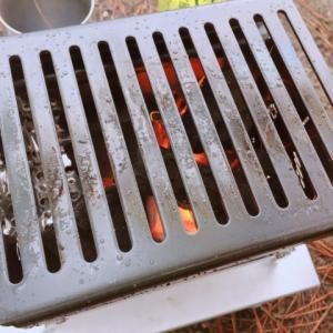笑'sコンパクト焚き火グリル「B-6君」を初使用!炭火で炊飯してみた結果!