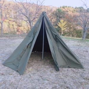 軍幕キャンプの魅力!ポーランド軍幕を使ったソロキャンプが楽し過ぎる!