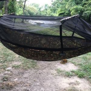 うだるような暑さの夏キャンプでDDハンモックの寝心地は思ったよりも○○だった!