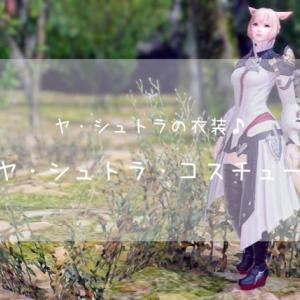 【FF14】ニュー・ヤ・シュトラ・コスチュームセット♪