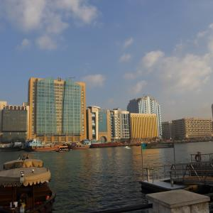 アラブ首長国連邦2日目ドバイ:アブラに乗りアル・ファヒディ歴史地区へ。。