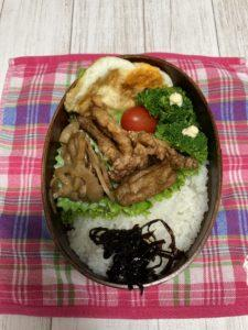 JK娘の豚の竜田揚げ弁当 母は美味しい定食からの初秋刀魚