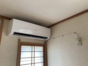 ネット購入したエアコン