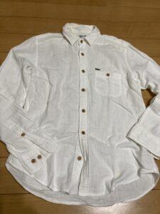 超ズボラ コットンシャツを枕カバーにリメイク