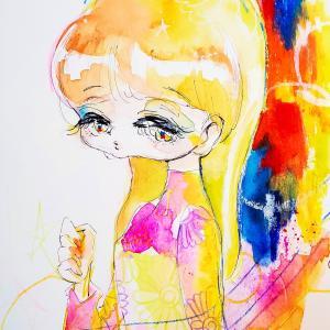 イラストを描くときの画材