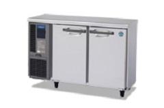 スナック様への小型2ドア台下冷蔵庫