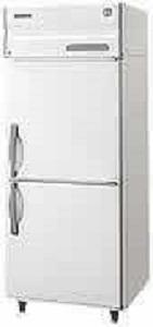焼肉屋様へのタテ型2ドア冷凍庫