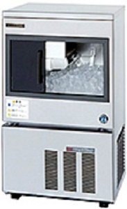 狭い厨房でのスライド扉製氷機