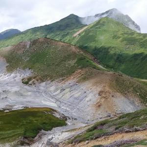 【登山】奥大日岳(2,606m)