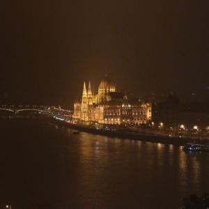【ハンガリー旅行記②】ブダペスト夜景散歩