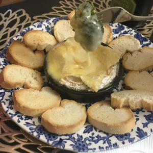 自宅で簡単チーズホンデュ風