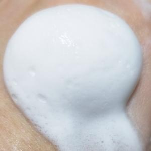 40代敏感肌|ピンポン玉の泡を作って洗顔をしよう