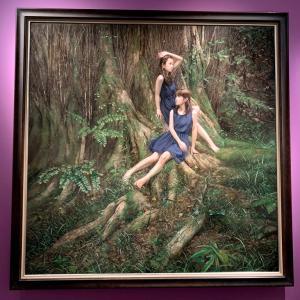 舞踏家、大野慶人を描いた作品 「超写実絵画の襲来―ホキ美術館所蔵」展(Bunkamura ザ・ミュージアム)