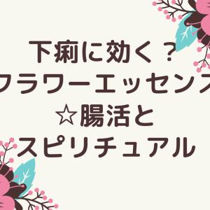 下痢に効く?フラワーエッセンス☆腸活とスピリチュアル