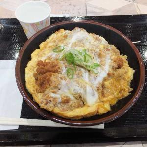 かつ丼玉子W500円(イオン太田)