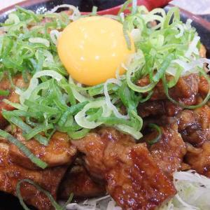 とんテキ丼(豚屋とん一イオン太田店)