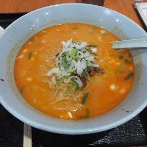 坦々ラーメン+中華飯(台湾料理一龍)