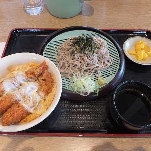 エビフライ丼セット(山田うどん食堂)