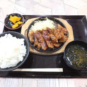 とんテキ定食(豚屋とん一イオン太田店)