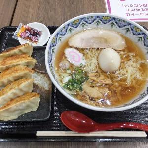 佐野味玉らーめん得餃子セット(イオン太田小竹屋)