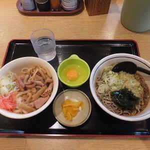 埼玉グルメ・スタミナパンチ丼セット(山田うどん食堂)