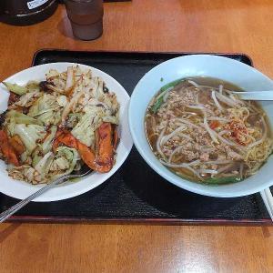 激安ランチ台湾ラーメン+回鍋飯(太田一龍)