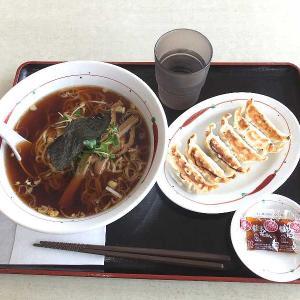 手もみラーメン+餃子(福よし)