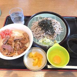 スタミナパンチ丼セット(山田うどん食堂)
