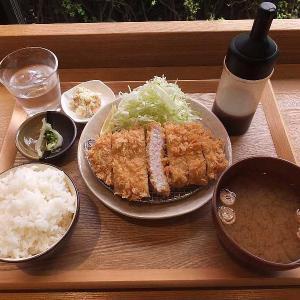 城町食堂のとんかつ定食(館林市)