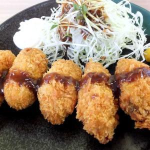 めしやのカキフライ定食(千代田店)