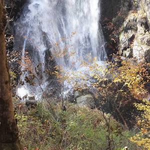 小中大滝の紅葉とイワナを撮る🍁🐟