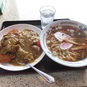 中華料理万仁のカツカレー&ラーメン🍛(桐生市)