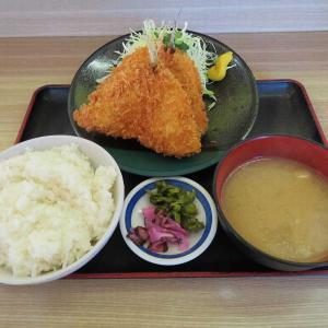 めしやのアジフライ定食(千代田店)