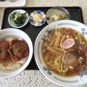 中華料理万仁のソースカツ丼&ラーメン(桐生市)