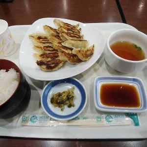 ぎょうざ15個定食(リンガーハット イオン太田店)