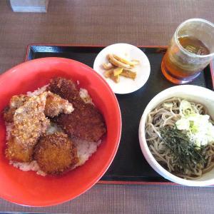 昼定食Mixソース丼セット(そば忠 50号店)