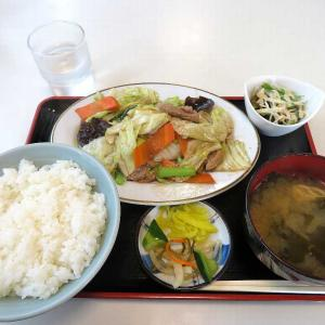 北京亭の肉野菜炒め定食(太田市矢場町)