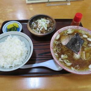 もつ煮とラーメンのセット(おうらん足利市)