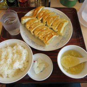 ぎょうざの満州ダブル餃子定食(おおたモール店)